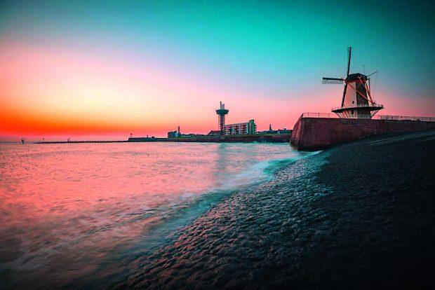 Wasserstoff 4 aus Windstrom im niederländischen Vlissingen