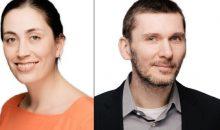 Johanna Hüther und Dominik Hoffmann sind bereits mehrere Jahre im Unternehmen leitend tätig. (Bilder: Almawatech)