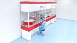 Excyte und Univercells bündeln Technologien, um vorgefertigte GMP-Produktionsanlagen für Impfstoffe bei neuen Krankheitsausbrüchen schneller zu implementieren. (Bild: Excyte / Univercells Technologies)