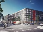 Für den Standort Mannheim plant ABB ein neues Multifunktionsgebäude. (Bild: ATP architekten ingenieure)