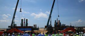 BASF hat mit dem Bau erster Anlagen des High-Tech-Verbundstandorts in Zhanjiang/China begonnen. (Bild: BASF)