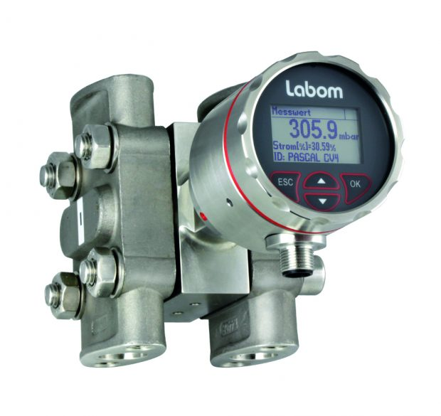 Labom Differenzdruckmessumformer Pascal CV4 Delta P CV 4300