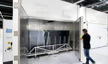 Die Flüssigkristall-Fenster werden am Standort Veldhoven produziert. (Bild: Merck)