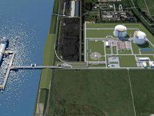 RWE und German LNG Terminal erkunden die Möglcihkeiten für günen Wasserstoff als Energieträger am geplanten LNG-Terminal in Brunsbüttel´. (Bild: RWE)