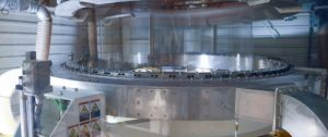 In Leuna schließt die Produktion biaxial orientierter PA-Folien. (Bild: Domo)
