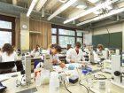 Platz 7: Friedrich-Alexander-Universität Erlangen-Nürnberg (FAU). Die Standorte der größten bayrischen Universität außerhalb der Hauptstadt München erstreckt sich über die beiden namensgebenden Nachbarstädte, wobei die Naturwissenschaftliche Fakultät – und damit das Studienfach Chemie – in Erlangen angesiedelt ist. Die Stadt mit knapp 110.000 ist bekannt für ihr studentisches Flair. Außerdem wirbt die Hochschule mit einem attraktiven Wohnumfeld, einer guten Infrastruktur sowie einem reichhaltigen Sport und Kulturangebot. (Bild: FAU/David Hartfiel)