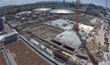 In Basel wird derzeit die Abwasserreinigungsanlage (ARA) erweitert . (Bild: Prorheno / Prominent)