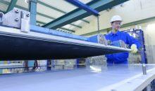 """Thyssenkrupp will seine Fertigungskapazitäten für Elektrolysezellen kontinuierlich steigern, um auf den wachsenden Bedarf an """"grünem"""" Wasserstoff zu reagieren. (Bild: Thyssenkrupp Industrial Solutions)"""
