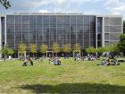 TU Dresden - Westseite des Hörsaalzentrums