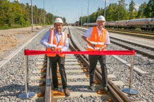 Der Standortbetreiber Infraserv Gendorf investierte über 11 Mio. Euro in den Ausbau der Gleisinfrastruktur. (Bild: Heiner Heine)