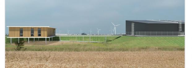 Lhyfe errichtet in Bouin eine Produktionsstätte für grünen Wasserstoff. (Bild: ABB)