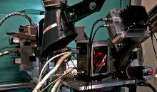 Versuchsaufbau inklusive Hochdruckzelle zur Fischer-Tropsch Messkampagne an der CAT-ACT Messlinie am KIT Synchrotron. (Foto: Tiziana Carambia)