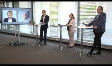 Im Rahmen einer virtuellen Pressekonferenz hat die Nürnbergmesse das Konzept der Powtech Special Edition erklärt. Bild: Redaktion