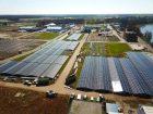 Mit einem eigenen Solarpark will Solvay sein Werk in Linne Herten mit Ökostrom versorgen. Bild: Solvay