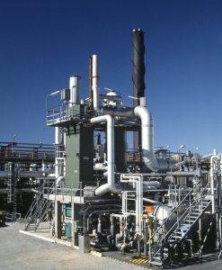Eine WSA-Anlage wie diese behandelt Abgas aus der Claus-Einheit, um einen Schwefelabscheidegrad (SRE) von mehr als 99,9 % zu erreichen.