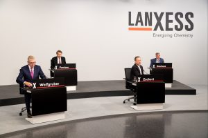 Die Lanxess-Hauptversammlung fand aufgrund der Covid-19-Pandemie virtuell statt. (Bild: Lanxess)