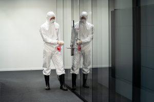 Die Desinfektionsprodukte kommen unter anderem zur Desinfektion in Krankenhäusern und öffentlichen Einrichtungen zum Einsatz. (Bild: Lanxess)