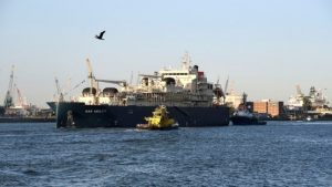 Die Gas Agility soll Containerschiffe in Nordeuropa mit LNG beliefern. (Bild: Port of Rotterdam)