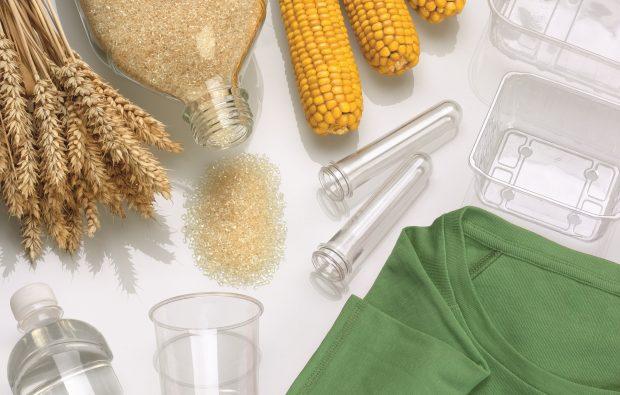Die Technologie von Thyssenkrupp ermöglicht effiziente und ressourcenschonende Umwandlung von Milchsäure aus Biomasse in den kompostierbaren Kunststoff Polylactid. (Bild: Thyssenkrupp Industrial Solutions)