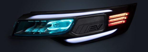 In Zukunft könnten Autoscheinwerfer aus Polycarbonat auf Basis nachwachsender Rohstoffe hergestellt werden. (Bild: Covestro)