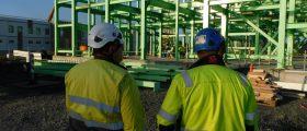 Bilfinger Industrial Services übernimmt die Stahlkonstruktionen am finnischen BASF-Standort für die Produktion von Kathodenmaterialien. (Bild: BASF)