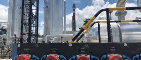 Mol hat am Standort Zala in Ungarn eine Anlage zur Produktion von chemisch stabilisiertem Bitumen aus Altreifen in Betrieb genommen. (Bild: Mol Group)